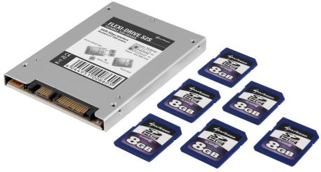 Sharkoon Flexi-Drive S2S: SATA SSD-Adapter