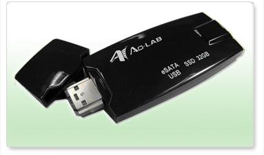 Portable flash drive gets eSATA connector