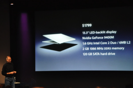 MacBook Air also updated with NVIDIA GPU and SSD