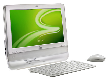 ASUS makes its Eee Top desktop PC specs official