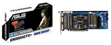 ASUS making 'Dark Knight' graphics cards