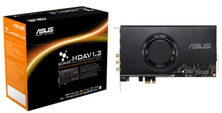 ASUS Xonar HDAV 1.3 sound card