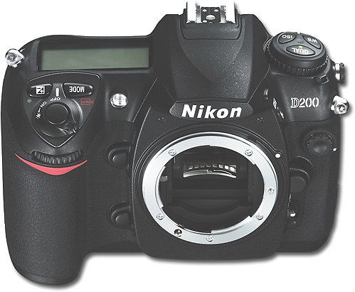 Deal of the Day: ikon 10.2MP D200 Digital SLR Camera