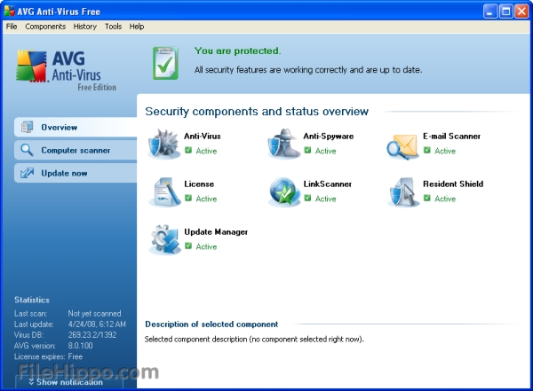 Download of the Day: AVG Free Edition 8.5.409