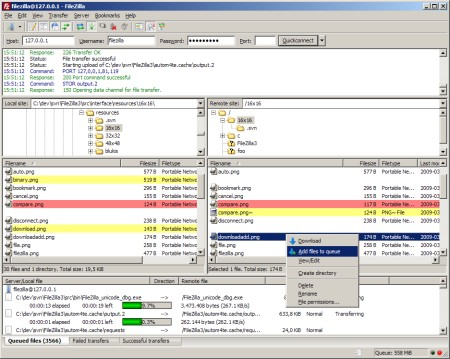 Download of the Day: FileZilla 3.2.3