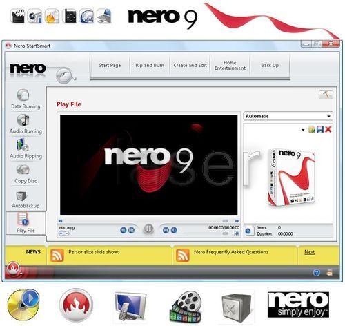 Nero 7 lite 7. 7. 5. 1 free download.