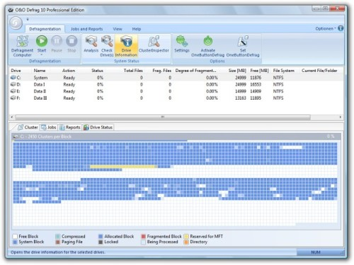 Download of the Day: O&O Defrag Professional Edition 11.5.4065