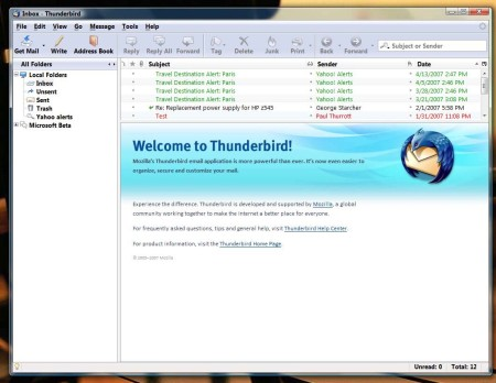 Download of the Day: Mozilla Thunderbird 2.0.0.21