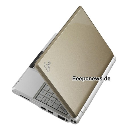 ASUS EeePC 900 series goes gold and blue