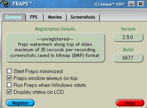 Fraps gets updated to 2.9.7