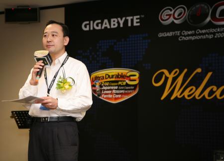 Video coverage of the GIGABYTE GO OC 2008 event