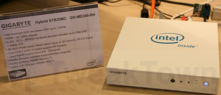 Intel and Yahoo Widget Channel STB hands-on at IDF