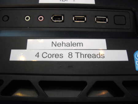 Intel Nehalem benchmarked quickly during IDF