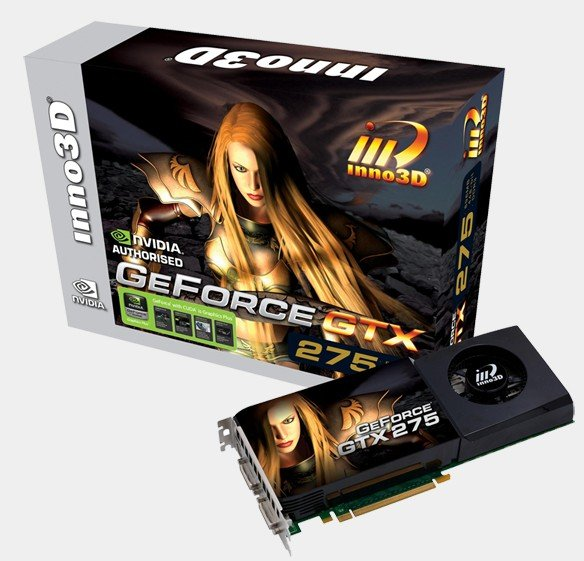 Inno3D GeForce GTX 275 Now Crafted with 1792 MB Memory