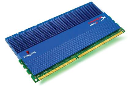 Kingston enhances HyperX series with T1 heatspreaders