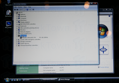 Hands-on with the MSI's CULV U200 netbook in Taipei