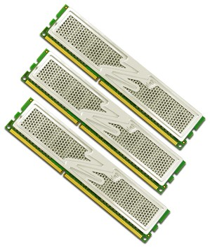 OCZ Technology Announces Availability of the World's First Triple Channel Memory Kits