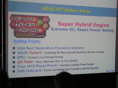 ASUS P6T Deluxe X58 motherboard