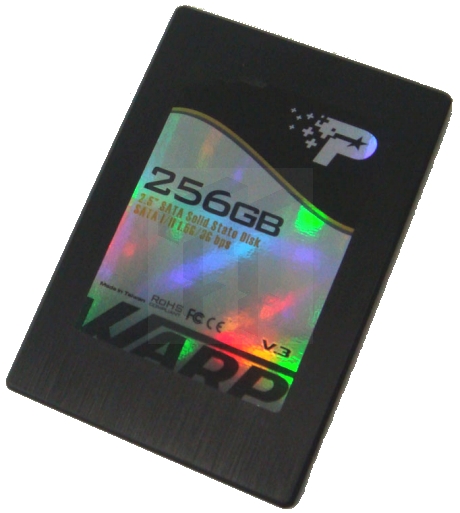 Exclusive: Patriot's 256GB Warp v3 SSD Pictured
