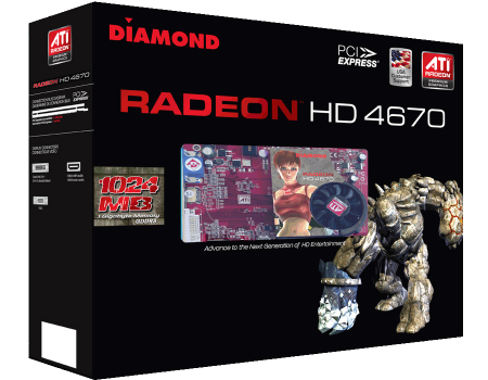 High-End Graphics for Mainstream Consumers - Meet the first 1 Gigabyte ATI Radeon HD 4670 Graphics Card