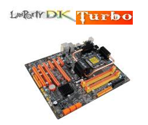 Inherit the Gene of the King - LANParty DK P45-T2RS Turbo