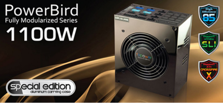 Topower Computer Introduces Special Edition of PowerBird 1100W PSU with Aluminum Carrying Case to High-Performance Systems