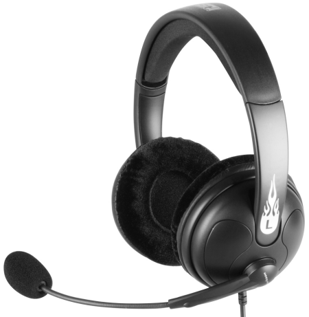 Sharkoon Rush Headset: Versatile stereo-headset for use with analogue audio sources / MSRP 16 euros