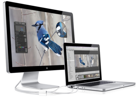 Apple Unveils 24-inch LED Cinema Display for New MacBook Family