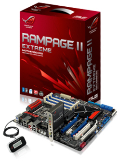 ASUS Unleashes Highest Performing Enthusiast Motherboard to Date: ROG Rampage II Extreme