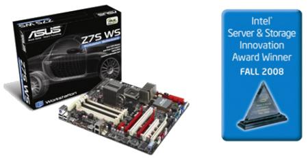 ASUS Z7S Workstation Motherboard Garners Intel Innovation Award