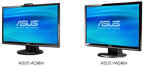 ASUS Unveils Personal Entertainment LCD Monitors that Deliver Splendidly Vivid Colors