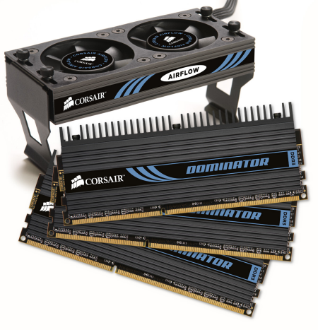 Corsair Launches Triple Pack Memory modules for Intel Core i7 processors