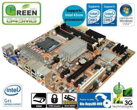 FOXCONN GREEN Series Motherboard combines energy efficiency and HD graphics