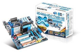 GIGABYTE Unwraps Latest X58 Series Motherboards for the Intel Core i7 Processors