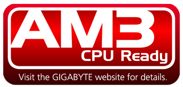 GIGABYTE Announces Support for AMD AM3/AM2+ 45nm Processors