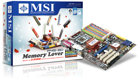 MSI launches P45-8D Memory Lover motherboard