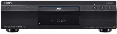Sony out with new BDP-S5000ES Blu-ray Disc Player
