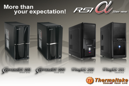 Thermaltake RSI Alpha Series- The Fantastic Four!