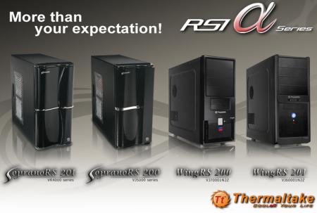 Thermaltake RSI Alpha Series- The Fantastic Four!