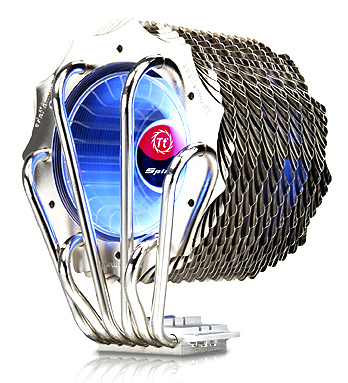 Another Style Attack from Thermaltake - New SpinQ Cooler with Both Strength & Aesthetics