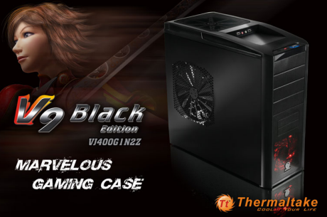 V9 Black Edition- Double 23cm fans - Double Horse Power