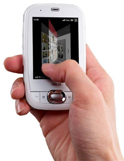 A Stroke of Genius: ASUS Launches First Glide-enabled PDA Phone
