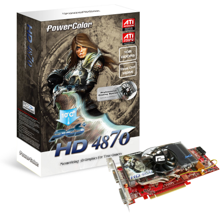 PowerColor announces PCS+ HD4870 1GB GDDR5