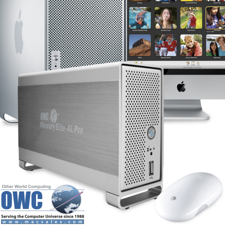 OWC ANNOUNCES NEW MERCURY ELITE-AL PRO DUAL-DRIVE