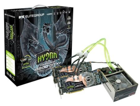 ECS GeForce 9800 GTX+ Hydra Pack