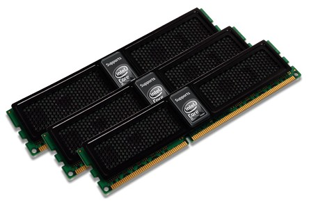 OCZ launches Intel optimized triple channel kits
