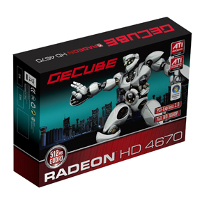 GECUBE Launches HD4600 Graphics Card for Middle to High-End Markets