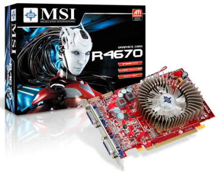 MSI unveils its best value R4600 series graphics card