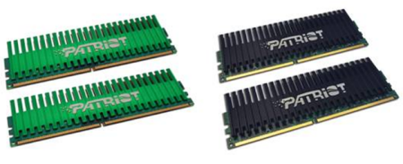 Patriot Memory Releases 4GB DDR2 PC2-7200 and PC2-8000 Viper Series Memory Kits