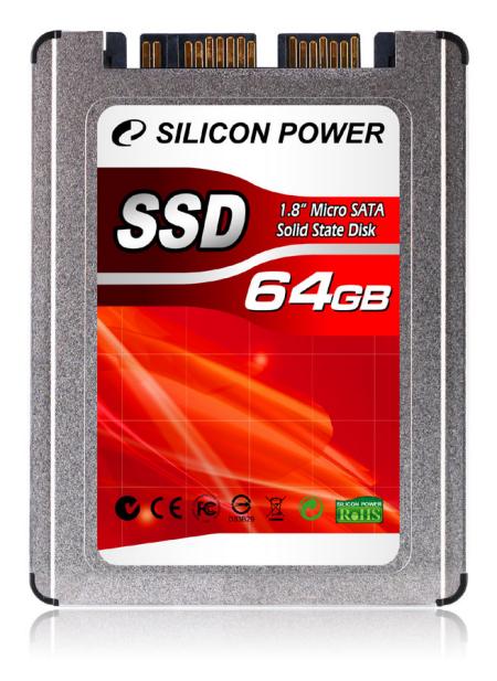 Silicon Power intro 64 GB 1.8-inch microSATA SSD